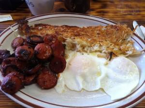 Brick's Breakfast in Redding