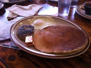Brick's Kid's Breakfast in Redding